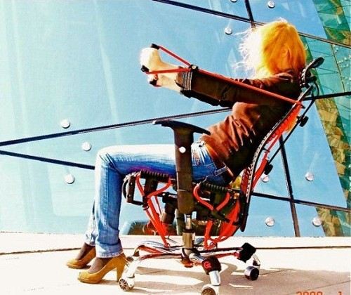 GymGym – занимайтесь в кресле