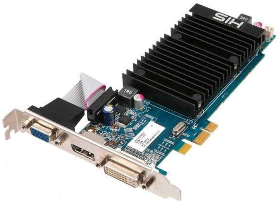 HIS выпускает Radeon HD 5450 для PCI-Express x1