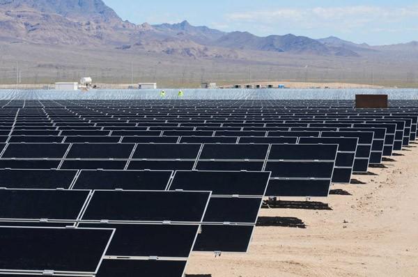 В Неваде открыта крупнейшая солнечная электростанция