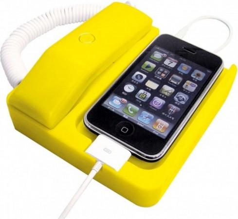 Док-станция Phone X в стиле ретро