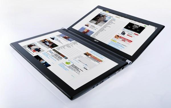 Двухэкранный ноутбук Acer Iconia