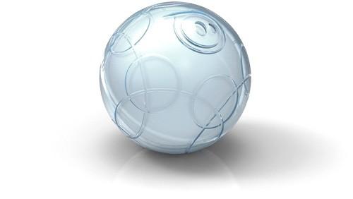 Сферический робот, управляемый смартфоном
