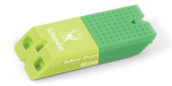 Цветные флешки Kingston Data Traveler Mini Fun G2