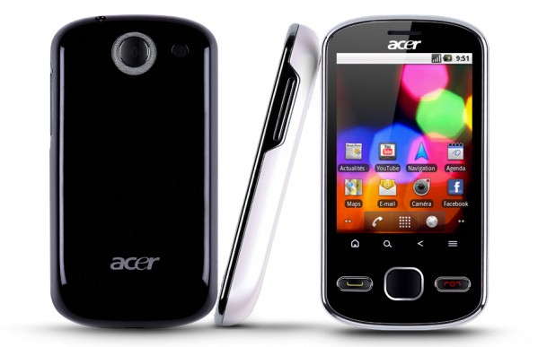 Android-смартфон Acer beTouch E140