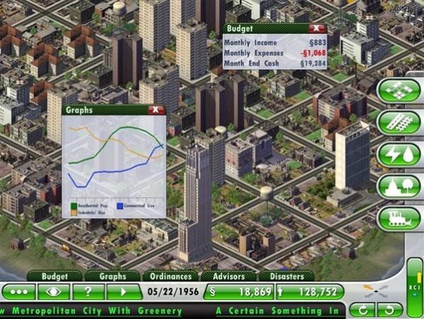 SimCity Deluxe, теперь и на iPad