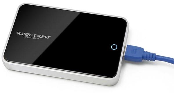 500-гигабайтный USB-накопитель Super Talent Storage Pod
