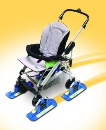 Лыжи для детской коляски