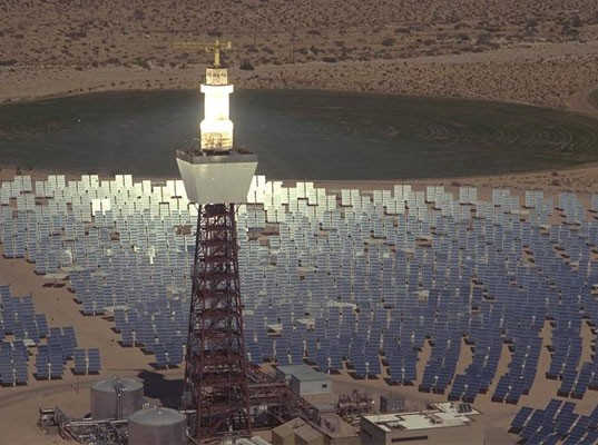 Круглосуточная солнечная электростанция