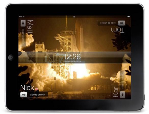 Многопользовательский интерфейс на iPad