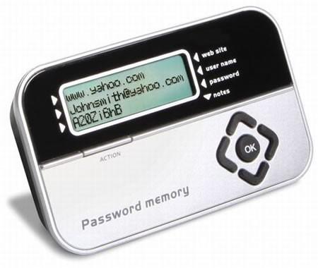 Гаджет для хранения паролей Password Vault