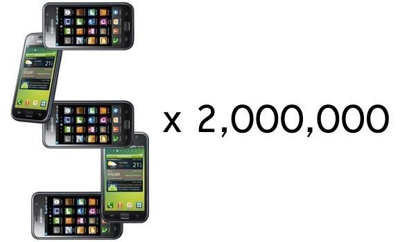 Samsung реализовала 10 млн. трубок Galaxy S