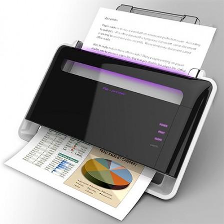 Eco Printer – принтер со стираемыми чернилами