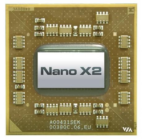 VIA представила второе поколение чипов Nano