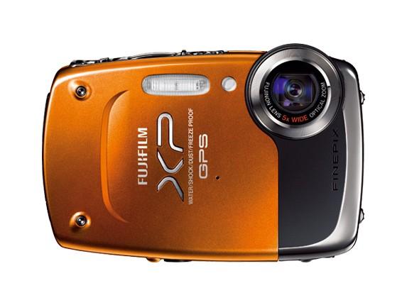 Fujifilm выпускает первый фотоаппарат с GPS