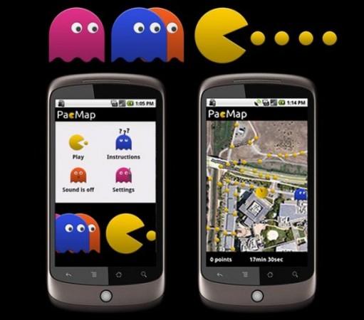 Поиграй в PacMan в реальной жизни!