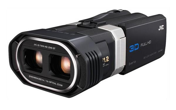JVC GS-TD1 – потребительская 3D-камера, снимающая FullHD