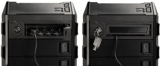 NZXT Bunker – USB-гаджеты под замком