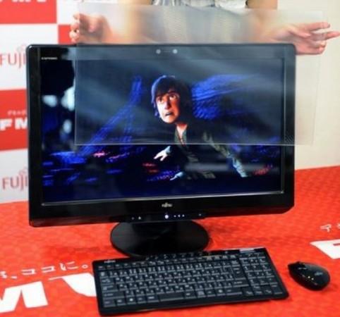 Fujitsu продвигает «3D без очков»