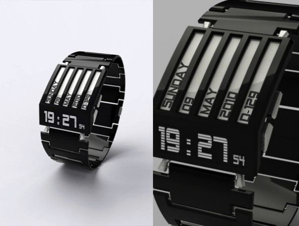 HorodronHD-01: E-Ink в качестве дисплея часов