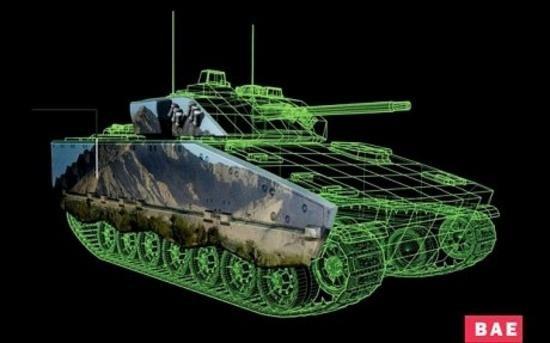 BAE собирается облицевать танки электронными чернилами