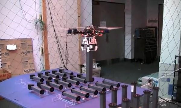 Квадрокоптеры научились строить конструкции