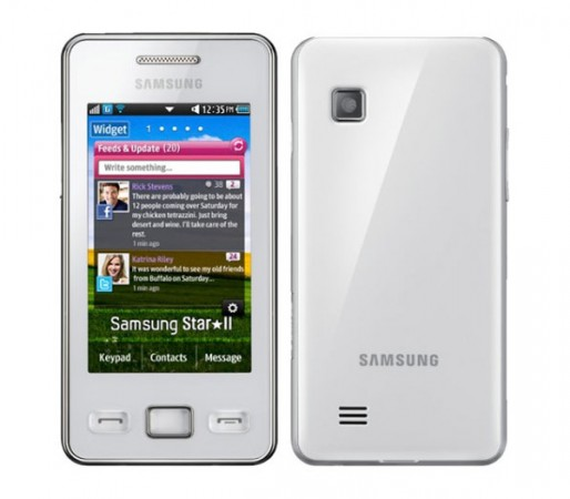 Новый смартфон Samsung Star II