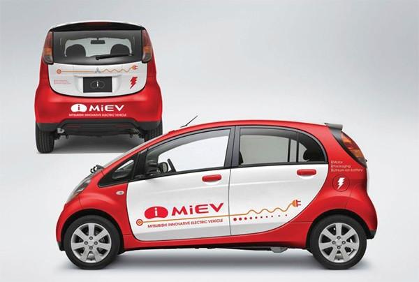 Mitsubishi запустит 8 электрокаров к 2015