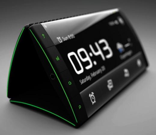 Концепт «телефона-раскладушки» будущего