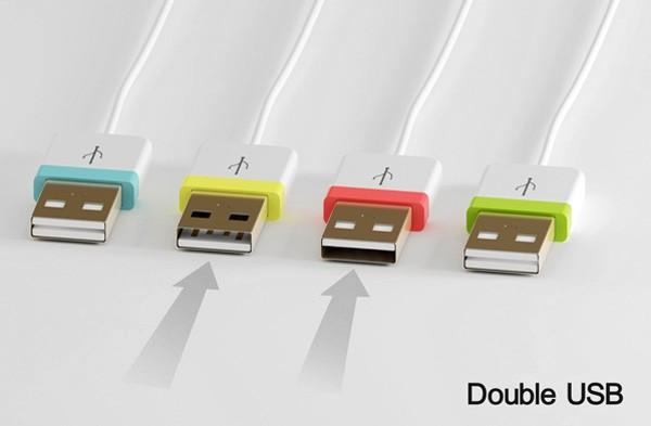 USB-коннектор без «верха» и «низа»