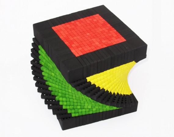 Самый большой в мире Кубик Рубика – 17x17x17