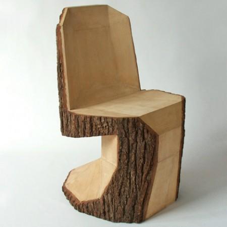 Деревянный стул от Петра Якубика