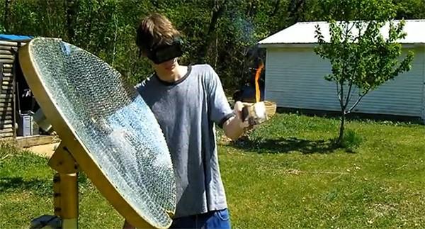Сделай сам: 5800 стеклышек на спутниковой тарелке