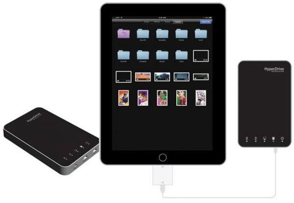 Новая версия винчестера HyperDrive для iPad