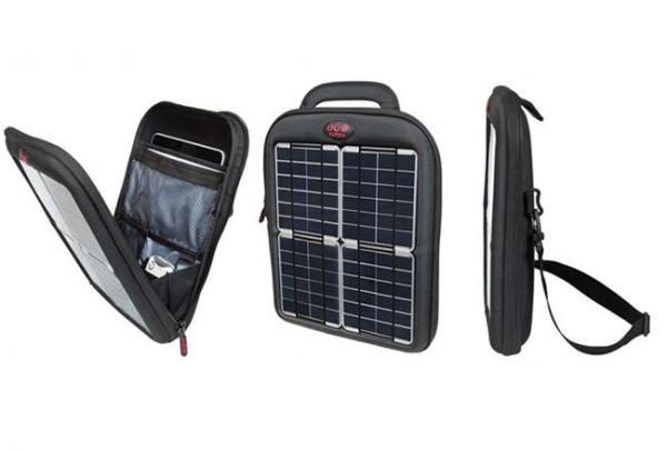 Сумка с  солнечными батареями для мобильных устройств