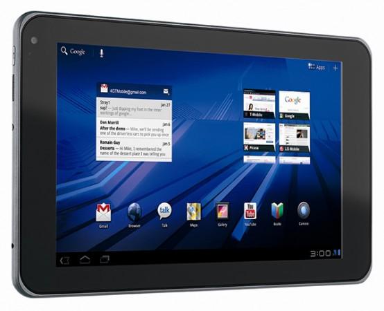 Планшет LG G-Slate: два ядра, Honeycomb, 3D-дисплей