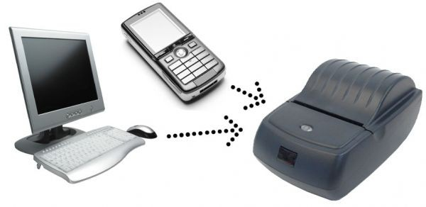 Принтер для печати SMS-сообщений