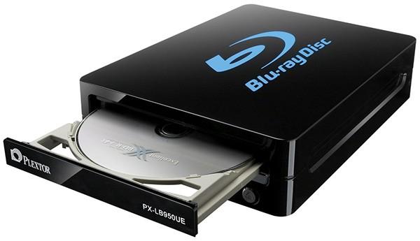 Plextor представила внешний пишущий привод Blu-Ray с USB 3.0