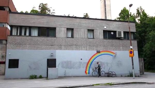 Робо-радуги: сложный способ вандализма