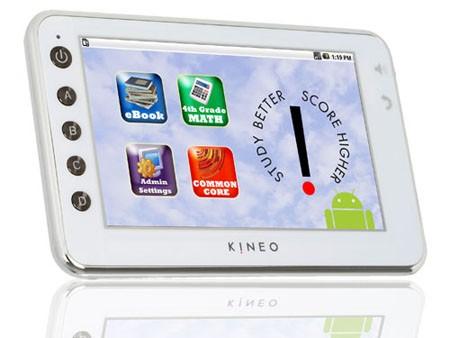 Kineo – Android-таблетка для школьников
