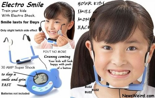 Безумный гаджет заставит ребенка улыбаться