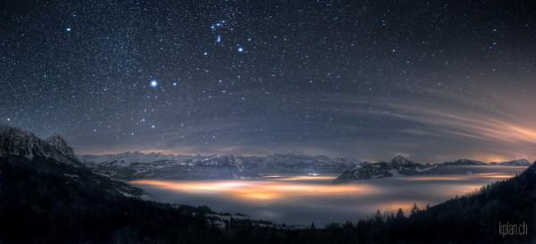 Инопланетные снимки с нашей планеты