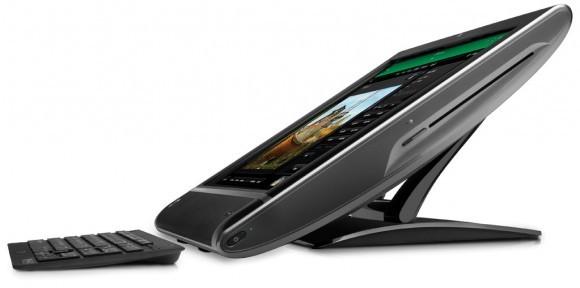 Сенсорные десктопы HP TouchSmart 610 и TouchSmart 9300