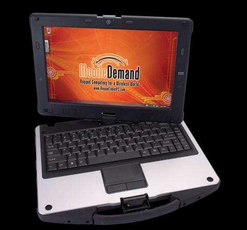 Сверхпрочный ноутбук MobileDemand xTablet C1200