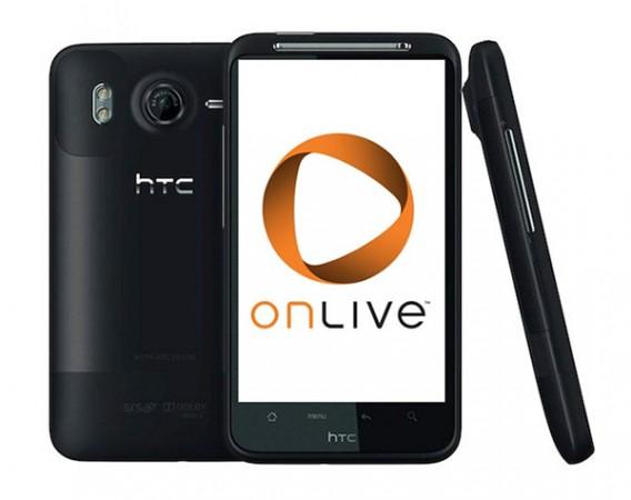 HTC инвестирует 40 миллионов долларов в OnLive