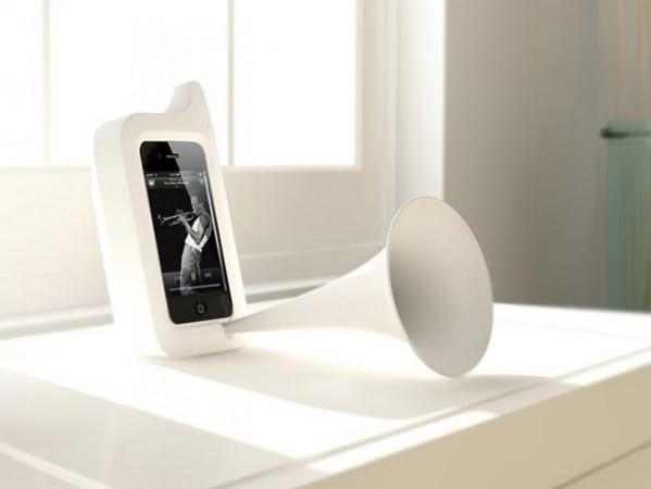 Ретро-динамик для iPhone