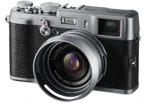FujiFilm FinePix X100 – современная фотокамера в стиле ретро