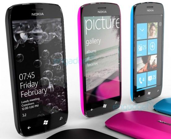 Первый концепт Windows Phone 7 от Nokia