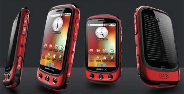 Umeox Apollo – Android-смартфон с солнечной батареей