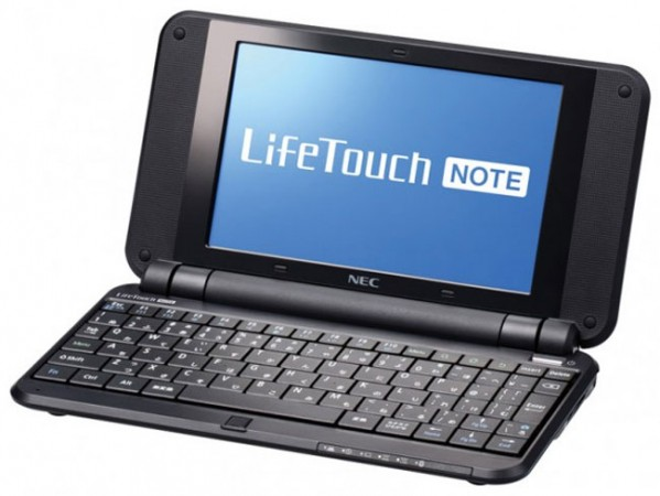 Android-нетбук NEC LifeTouch Note