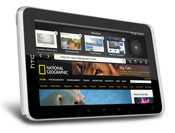 HTC присоединяется к «планшетной войне» с 1,5 ГГц, 7'' таблеткой Flyer